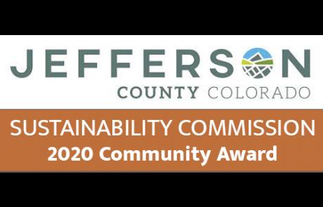 Jefferson County Sustainability Commission 2020 Community Award
