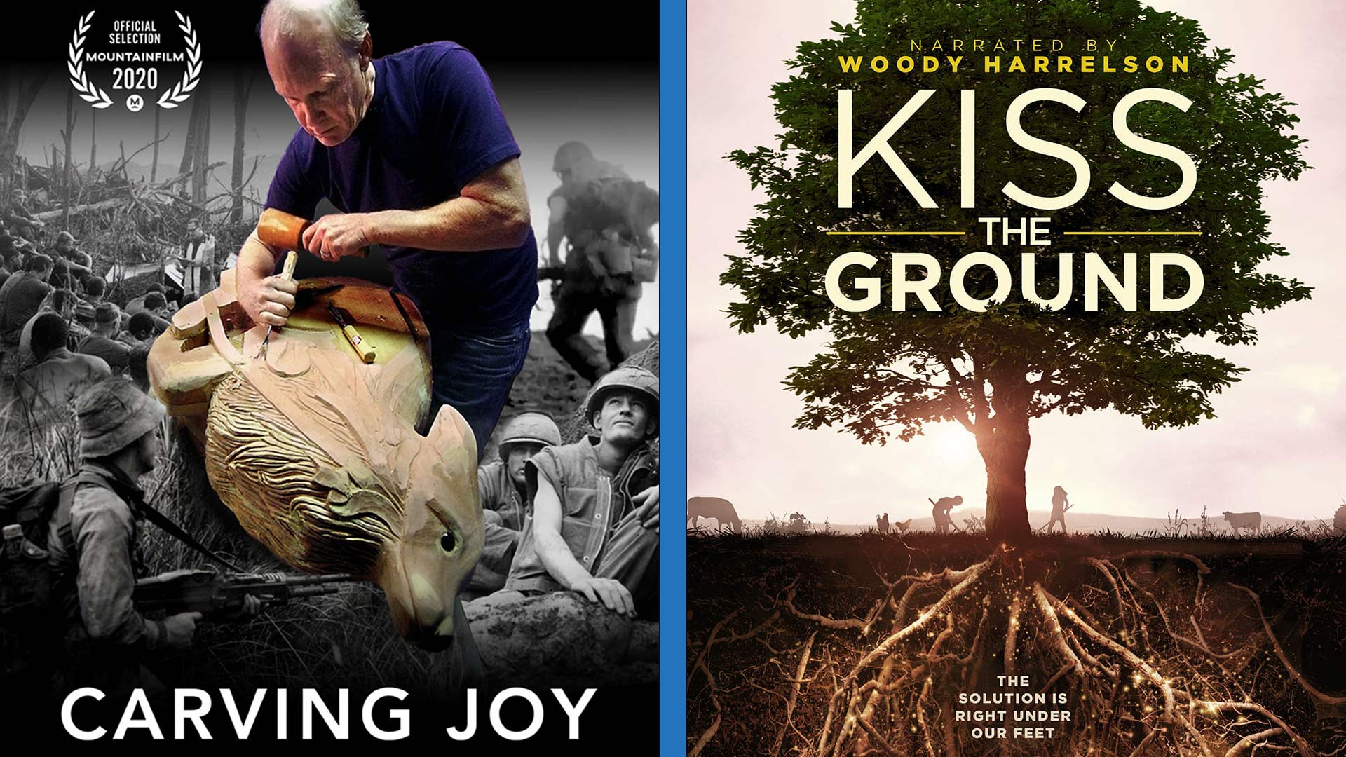 October Film Fest: Kiss the Ground and Carving Joy